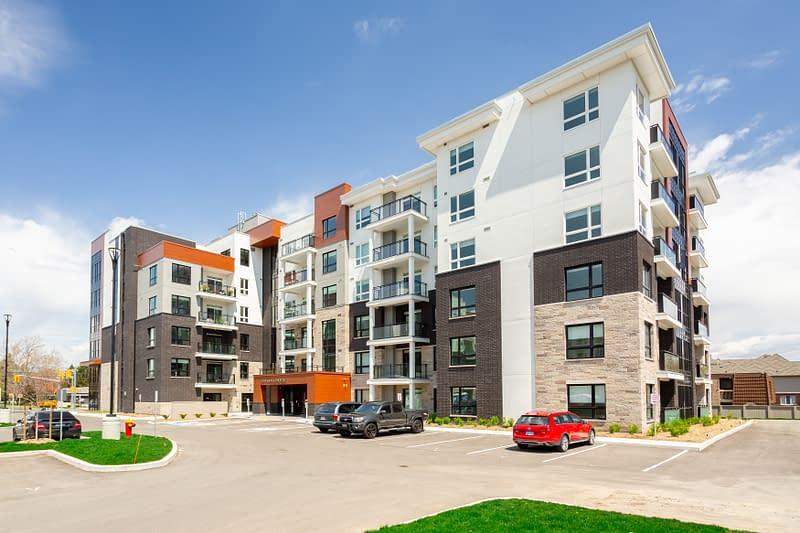 305-340 Plains Road Modern Condo Building in Burlington, ONtario